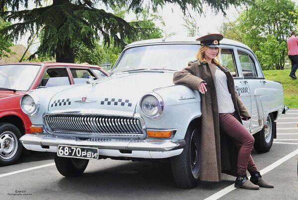 Setkání klubu vlastníků sovětských automobilů v USA - Sputnik Česká republika