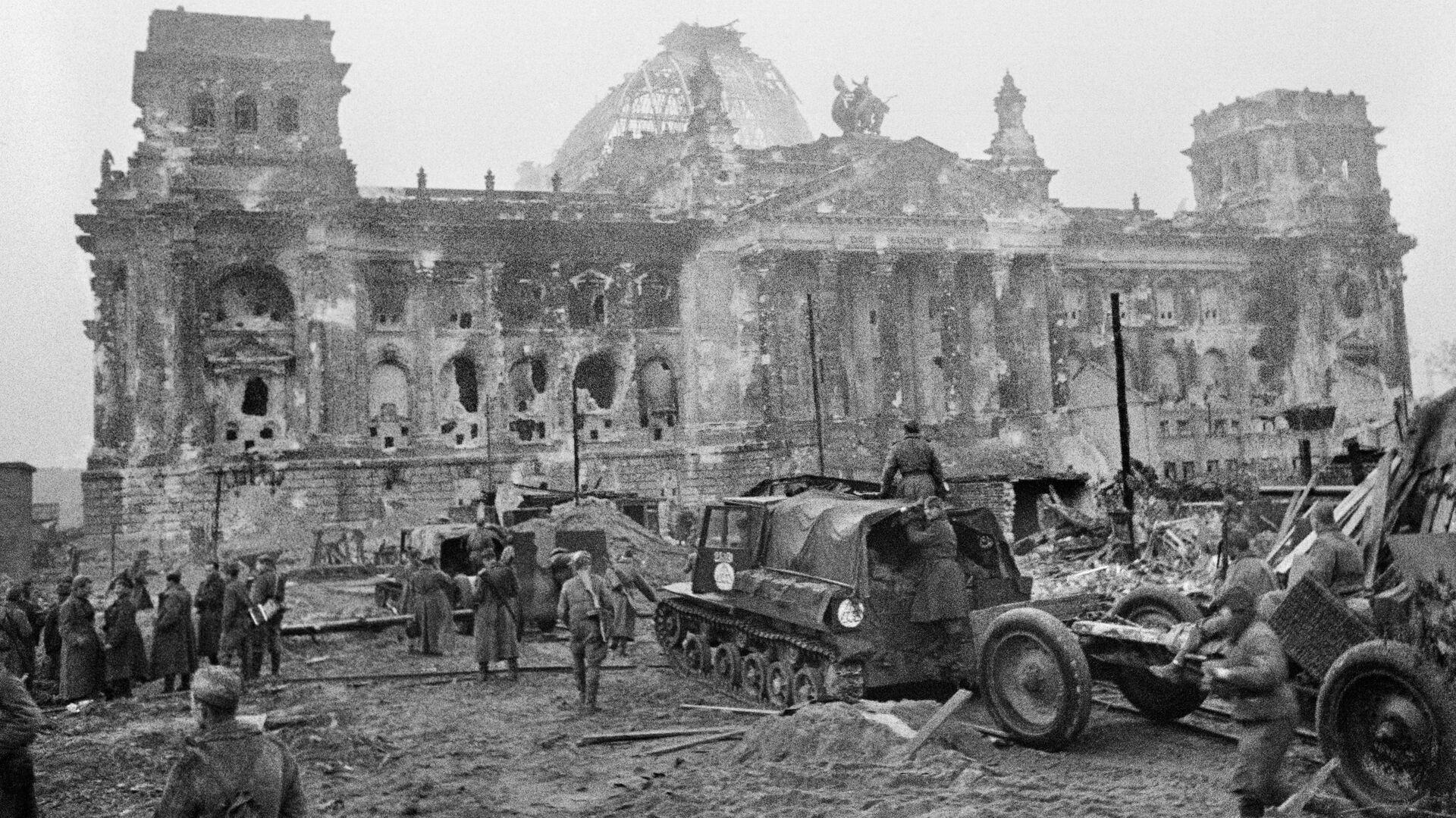 Květen 1945. Dobytí Berlína - Sputnik Česká republika, 1920, 08.08.2021