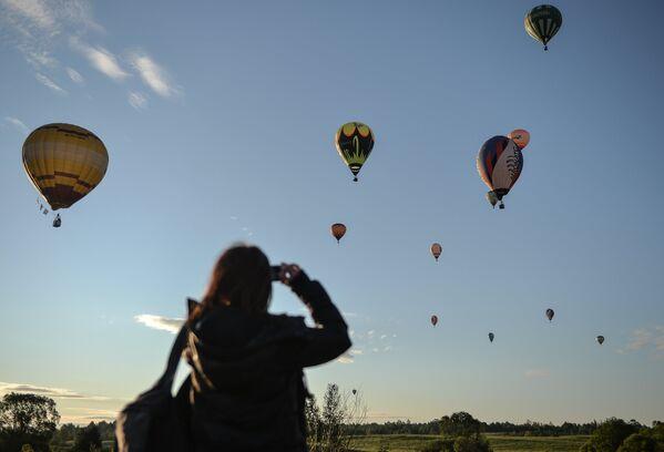 Závody pilotů vzdušných balónů - Sputnik Česká republika