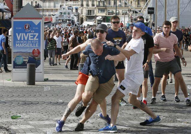 Nepořádky v Marseille
