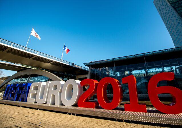 Nápis Euro 2016