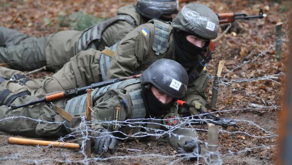 Ukrajinská Národní garda - Sputnik Česká republika