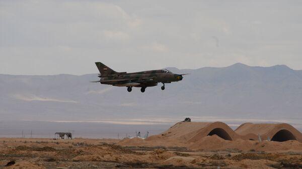 Stíhačka MiG-21 syrského letectva - Sputnik Česká republika