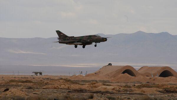 Stíhačka MiG-21 syrského letectva. Archivní foto - Sputnik Česká republika