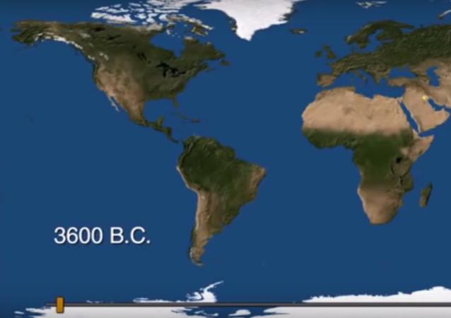 Na videu předvedli zrození a smrt měst za 6000 let