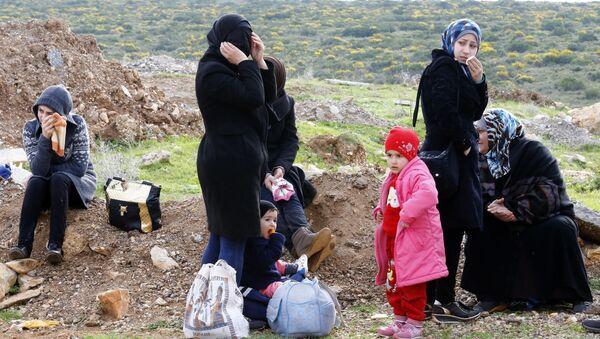 Syrští běženci v Turecku - Sputnik Česká republika
