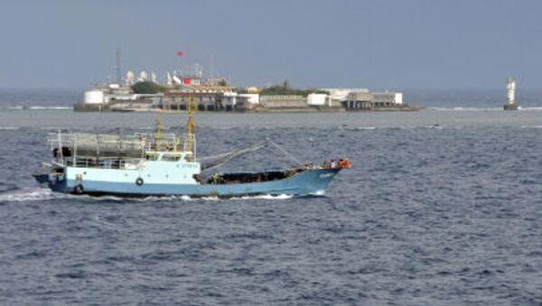 Čínská rybářská loď v Jihočínském moři - Sputnik Česká republika