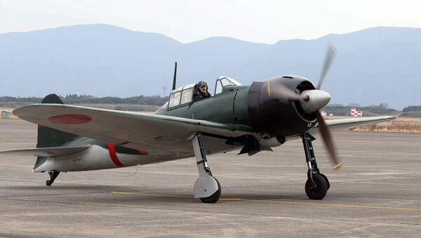 Jaonská stíhačka Mitsubishi A6M Zero - Sputnik Česká republika
