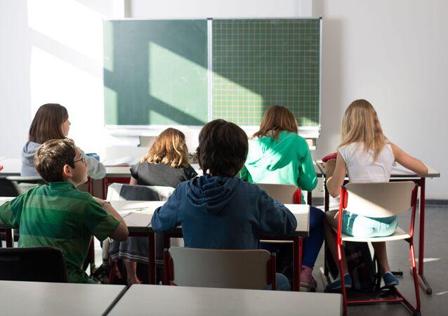 Němečtí žáci. Ilustrační foto