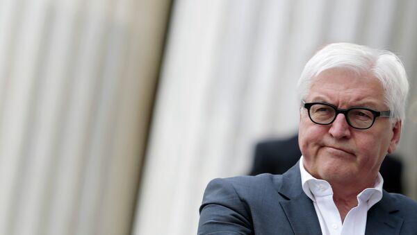 German Foreign Minister Frank-Walter Steinmeier - Sputnik Česká republika