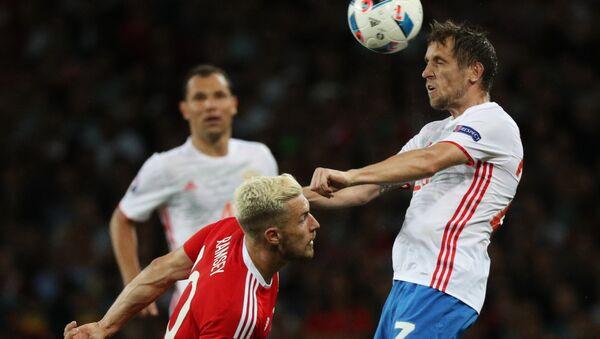 Ruský tým v pondělí prohrál s týmem Walesu v zápase třetího kola skupiny B 0:3 - Sputnik Česká republika