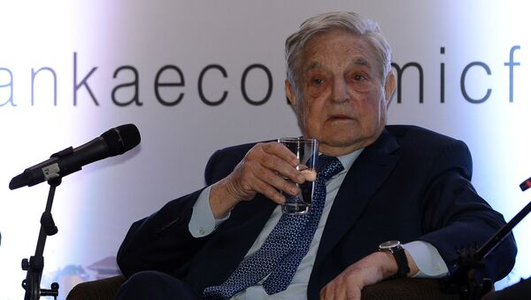 Americký multimiliardář George Soros - Sputnik Česká republika