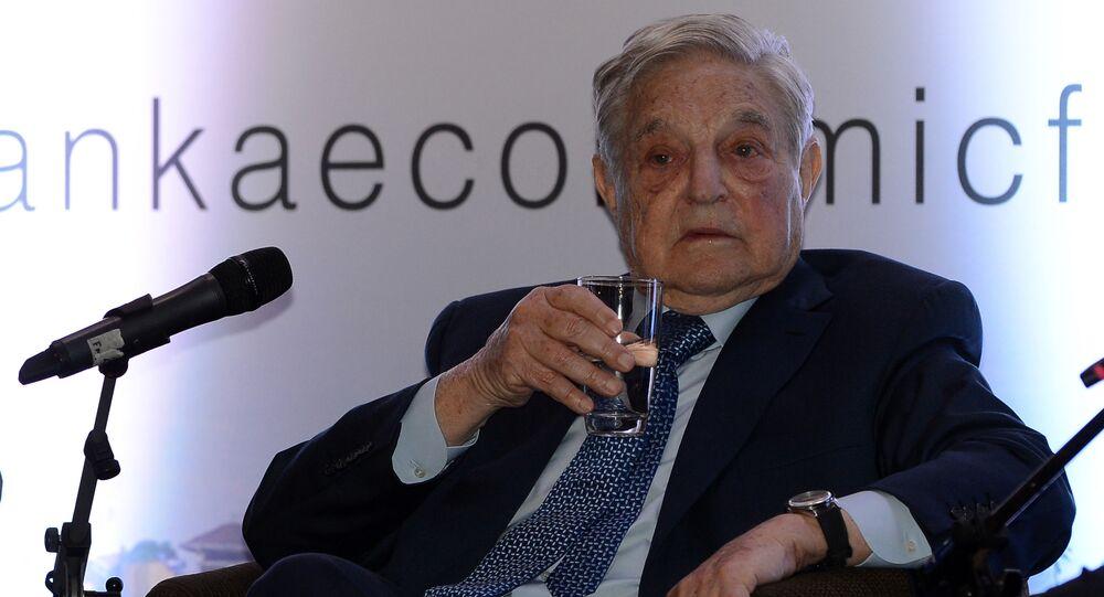 Americký multimiliardář George Soros