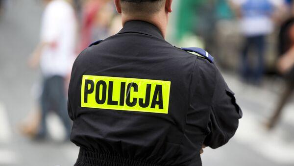 Polský policejní důstojník. Ilustrační foto - Sputnik Česká republika