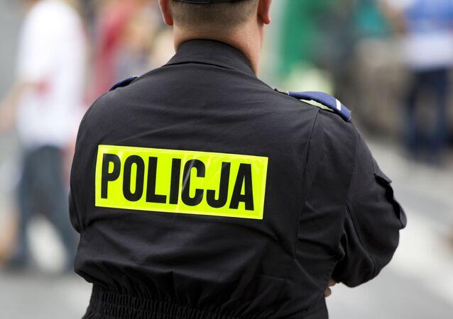 Polský policejní důstojník