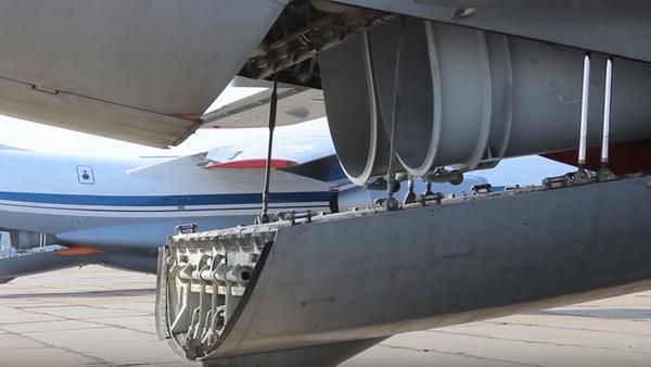 Vojenské transportní letouny Ruska pomáhají hasit lesní požáry - Sputnik Česká republika