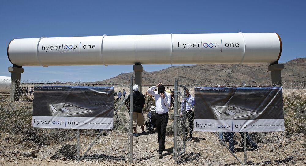 Pohonný systém Hyperloop One