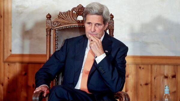 Ministr zahraničí USA John Kerry - Sputnik Česká republika