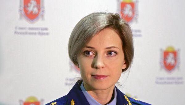 Prokurátorka Natalja Poklonskaja - Sputnik Česká republika