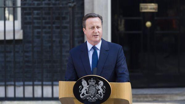 David Cameron  oznámil svou demisi - Sputnik Česká republika