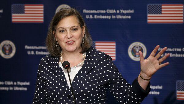 Pomocnice ministra zahraničí USA Victoria Nulandová - Sputnik Česká republika