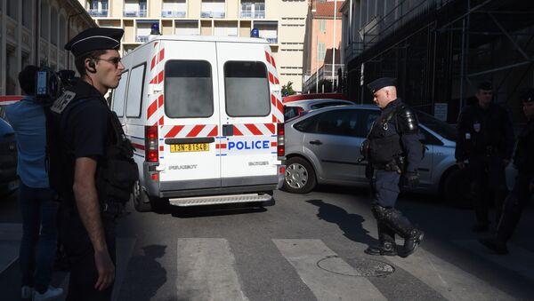 Policie v Marseille během Euro 2016 - Sputnik Česká republika