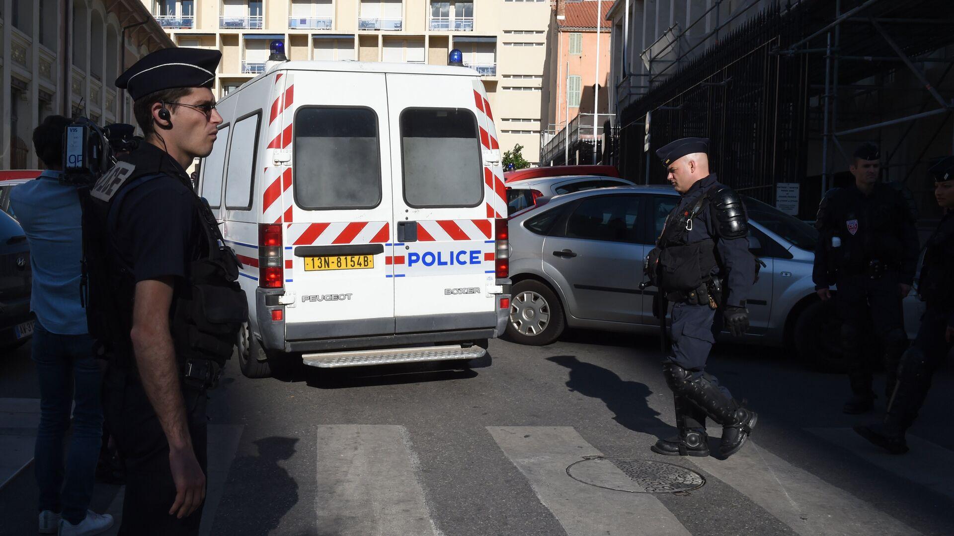 Policie v Marseille během Euro 2016 - Sputnik Česká republika, 1920, 09.07.2021