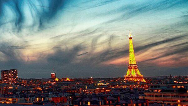 Neobvyklé oblaky v Paříži - Sputnik Česká republika