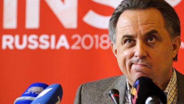 Ruský ministr sportu Vitalij Mutko - Sputnik Česká republika