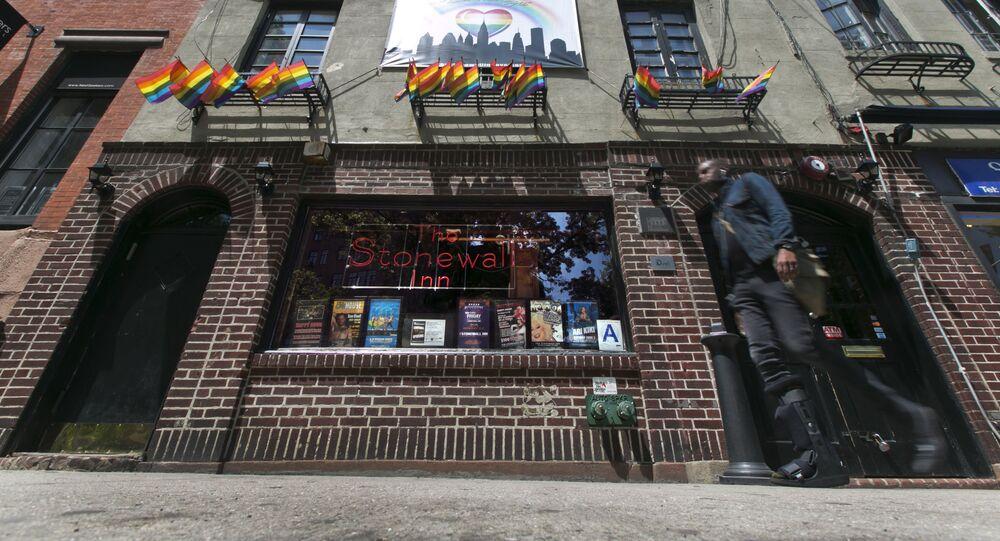 Gay bar Stonewall Inn