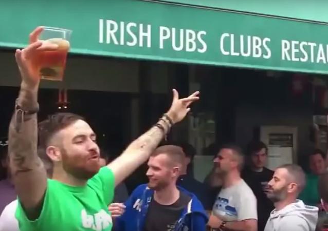 Irští fanoušci