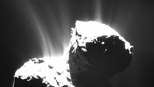 Kometa Čurjumova-Gerasimenka - Sputnik Česká republika
