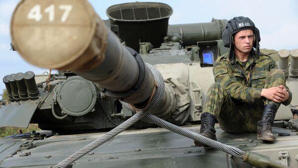 Tank T-80 - Sputnik Česká republika