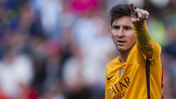 Lionel Messi - Sputnik Česká republika