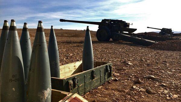 Zbraně v syrské provincii Homs - Sputnik Česká republika