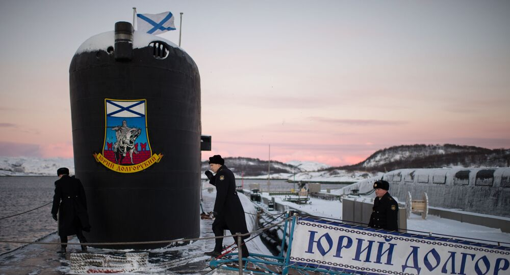 Ponorka Jurij Dolgorukij je čelní lodí projektu 955 Borej pojmenovaná na počest zakladatele Moskvy