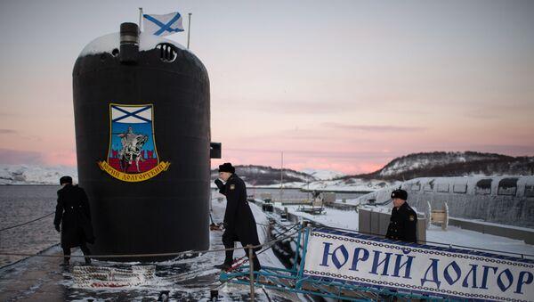 Ponorka třídy Borej Jurij Dolgorukij. Ilustrační foto - Sputnik Česká republika