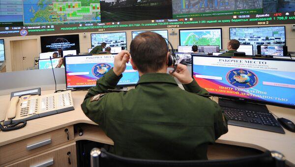 V centru řízení všední činnosti - Sputnik Česká republika