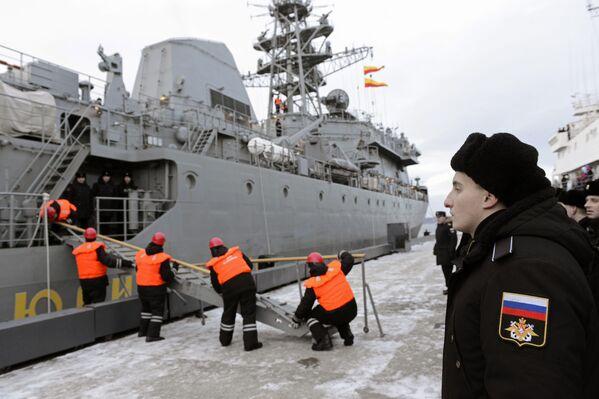 Všední dny Severní flotily - Sputnik Česká republika