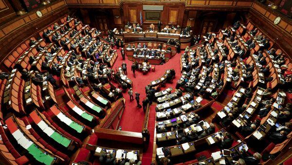 Italský senát - Sputnik Česká republika