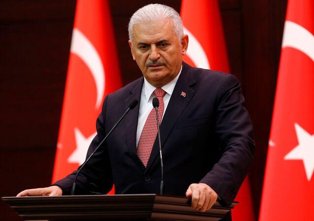 Turecký premiér Binali Yildirim