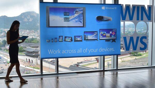 Windows 10. Ilustrační foto - Sputnik Česká republika