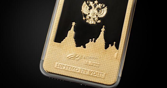 iPhone 6s s portrétem Vladimira Putina
