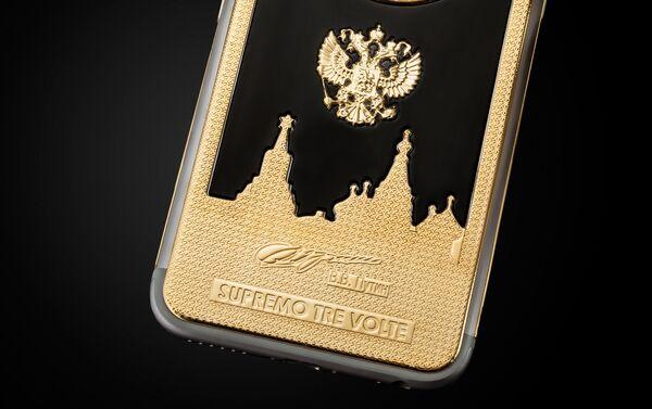 iPhone 6s s portrétem Vladimira Putina - Sputnik Česká republika