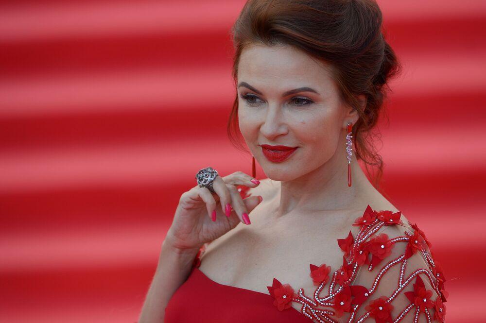 Návštěvnice Moskevského mezinárodního filmového festivalu 2016