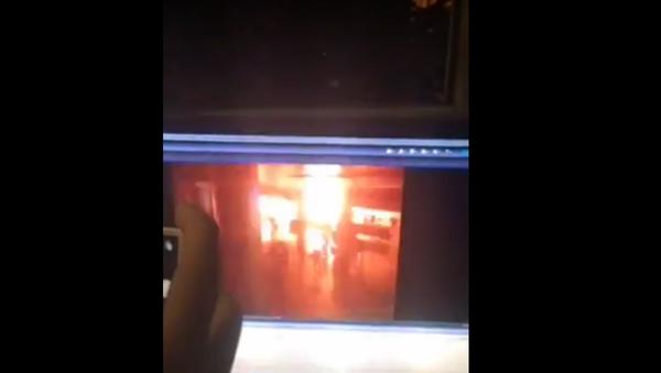 Kamera zachytila explozi na letišti v Istanbulu - Sputnik Česká republika