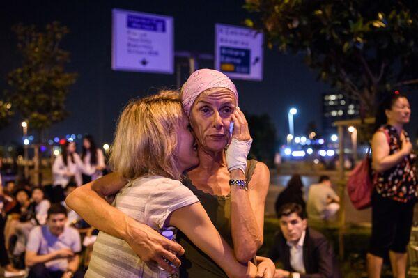 Teroristický čin v Istanbulu - Sputnik Česká republika