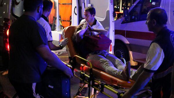 Na místě exploze v Istanbulu - Sputnik Česká republika