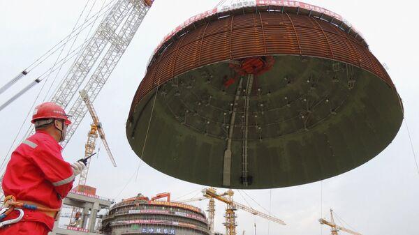 Budování Tianwanské jaderné elektrárny - Sputnik Česká republika