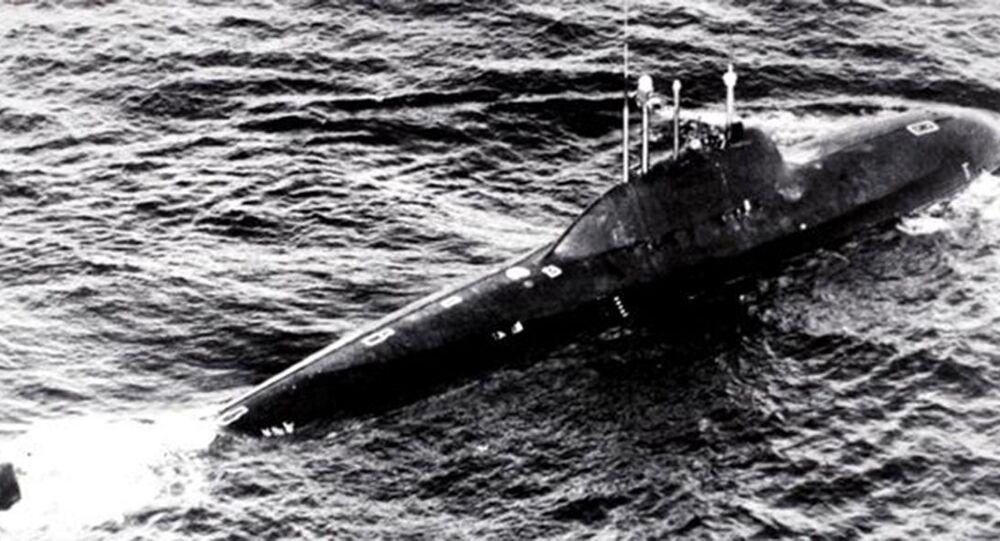 Ponorka projektu 705К Lira